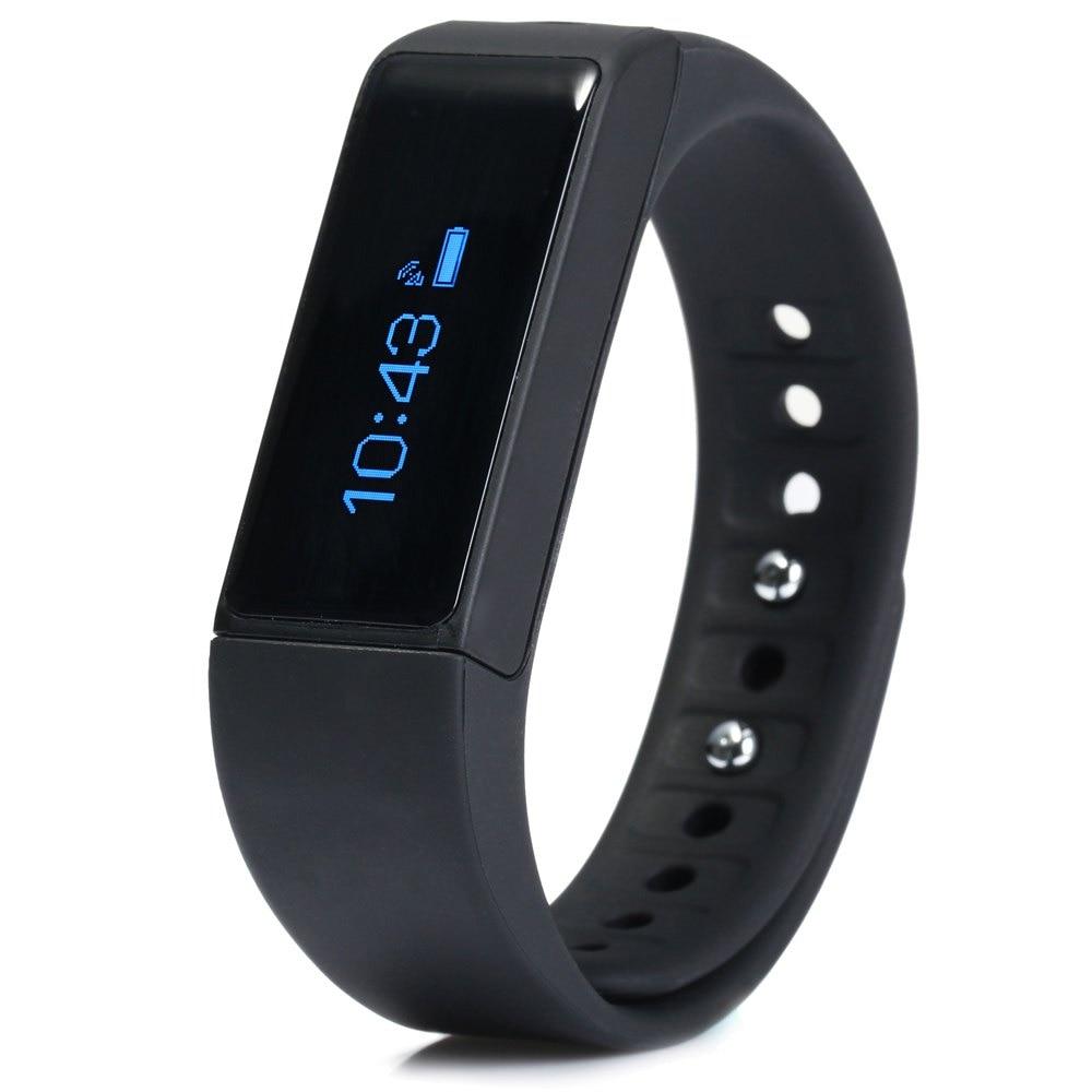 imágenes para I5 Más Poligrafía Pulsera Smartband IP67 Bluetooth Reloj de Pulsera Deportivo de Seguimiento Remoto Cámara smartwatch banda Android