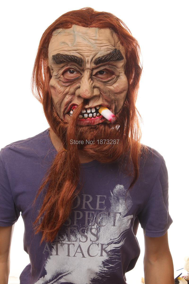 Aliexpress.com : Buy 2015 Latest Long Hair Devil Full Head ...