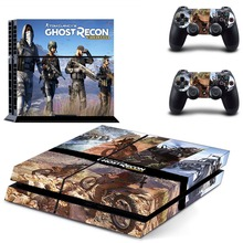 Tom Clancy's Ghost Recon Wildland PS4 Skin Sticker Decal Vinyl for Sony Playstation 4 Console and 2 Controllers PS4 Skin Sticker metro exodus ps4 skin sticker decal vinyl for sony playstation 4 console and 2 controllers ps4 skin sticker