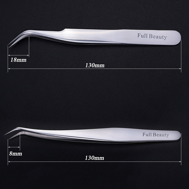 1pc Professional Stainless Eyebrow Tweezer 3D Volume Eyelash Extension Grafting Makeup Tools High Presicion Tweezers LAU01-05-1 2