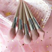 Mode Fenty Stijl Make Up Kwasten Beeldhouwen Bronzer Borstel Markeerstift Blending Shadow Blusher Make Up Brush Tool