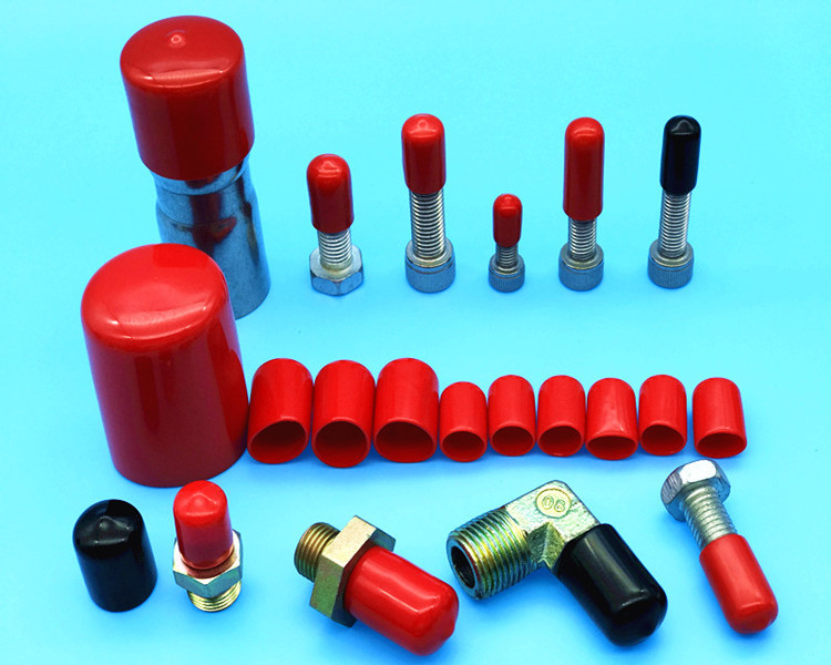 Rubber Cap Rubber Boot Thread Protection Cap Screw Set Dust Casing Sleeve Cap Dust Cap Cap Cover 20pcs m3 m12 screw thread metric plugs taps tap wrench die wrench set