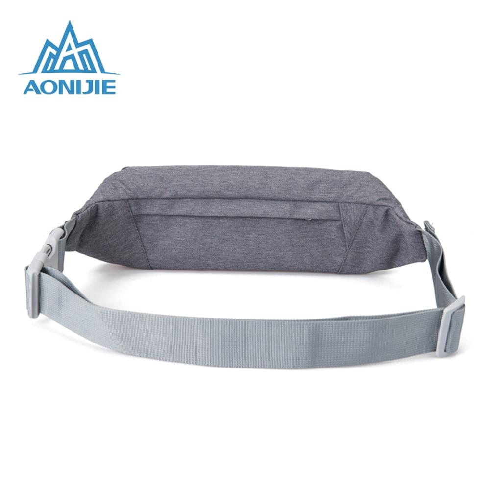 AONIJIE Running Bag Men Women Outdoor Sport Waist Pack Hiking Gym Fitness Bags Anti-theft Belt Fanny Pack Running Accessories