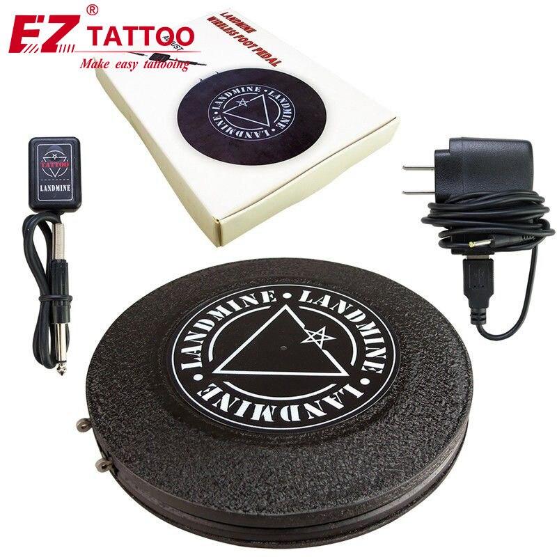 Tatouage pied pédale interrupteur tatouage pied pédales sans fil pour tatouage mitrailleuse tatouage approvisionnement