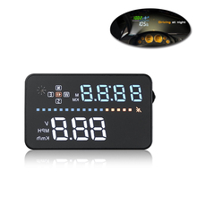 3 5 Auto Car HUD GPS OBD Head Up Display digital car speedometer Overspeed Warning Dashboard