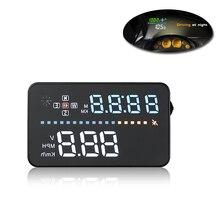 """3.5 """"Auto Car GPS OBD HUD Head Up Display digital del velocímetro del coche, sobrevelocidad Advertencia Parabrisas Dashboard velocidad Proyector"""