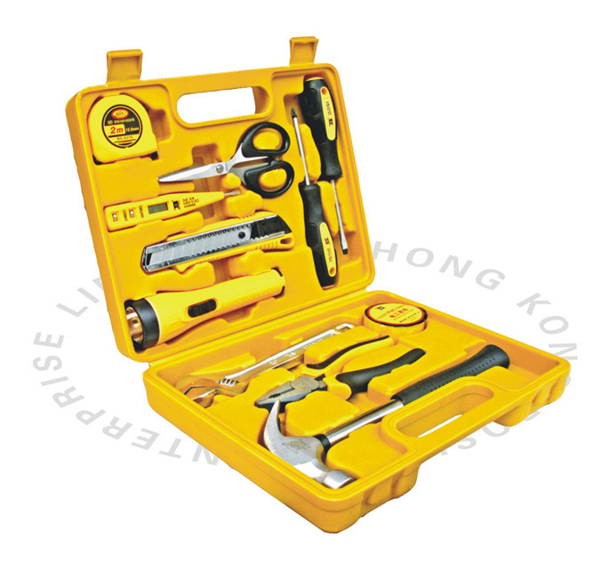 free shipping BOSI 12PC in case home repair tools set brand new