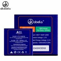 EP500 Bateria Mobile Phone Li Ion Battery For Sony Ericsson Xperia ST17I ST15I SK17I WT18I X8