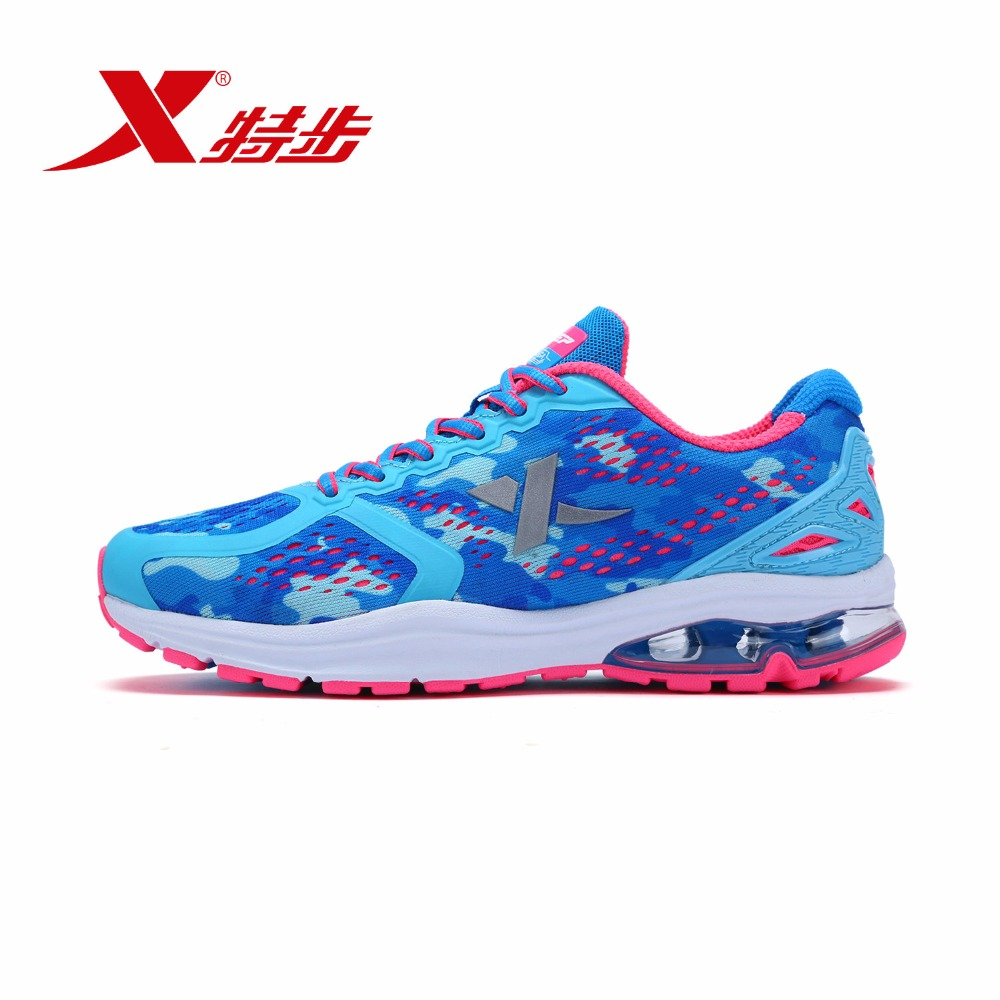 983218119173 XTEP Brand Air Max Breathable Krossovky Women Running Sports Shoes Sneakers