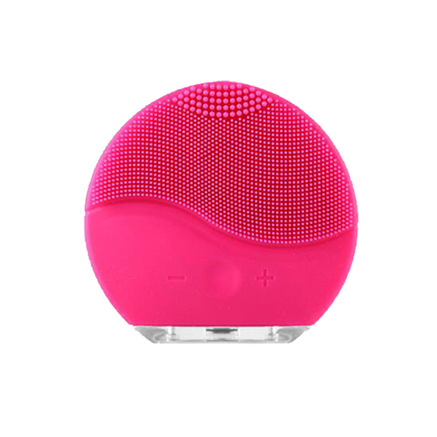 New Ultrasonic 2 Electric Facial Cleansing Brush for Face Massager Skin Wash Cleaning Medical Level Silicone & Waterproof