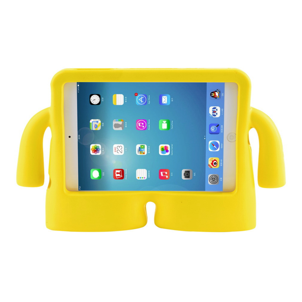 Soft silicon handle design for ipad mini 1 2 3 kids children soft silicon handle design for ipad mini 1 2 3 kids children shockproof stand funda for apple for ipad mini 1 2 3 silicon case in tablets e books case thecheapjerseys Images