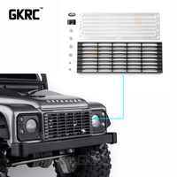 Aluminum Alloy Front Inlet Grille Metal Cooling Grid For 1/10 Rc Crawler Car Traxxas Trx4