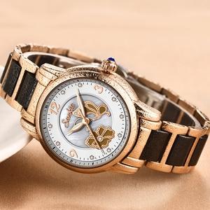 Image 3 - SUNKTA 럭셔리 여성 시계 스테인레스 스틸 패션 디자인 팔찌 시계 숙녀 손목 시계 시계 Relogio Feminino Montre Femme