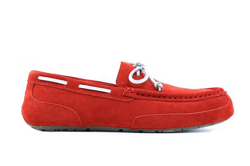 Suede negro Poner Pie Nuevos Zapatos Los azul De Marca Slip Un Hombres Nueva on Perezoso Beige Ocasionales Personalidad Moda rojo Planos Vestido IOIPqxY