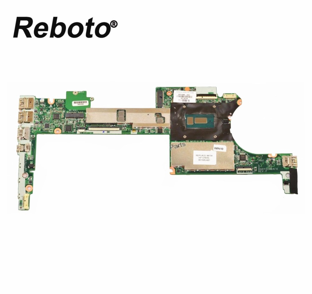 Original For HP Spectre X360 13 4000 Laptop Motherboard With 8GB RAM i7 5500U 2 4GHz