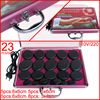 HOT 23pcs Set Power Massage Stone Set Hot Stone With Heater Box Ysgyp Nls