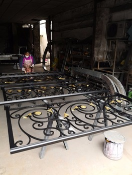 Schmiedeeisen Eingangstür | Dekorative Schmiedeeisen Sicherheit Türen Texas Eisen Türen
