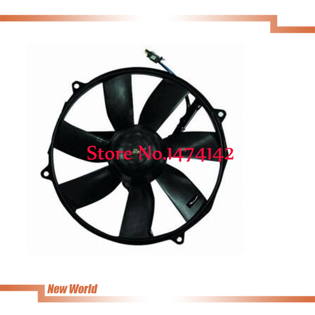 Free shipping good quality for Benz S Cl Sl Class W140 R129 Auxiliary Ac Condenser Cooling Fan & Motor 0015000593