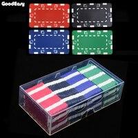 36 шт./100 шт./200 шт./лот высокое качество квадратный 32 г ABS фишки для покера монеты 12 Цветов без лица значение наборами микросхем Техасский Холде...