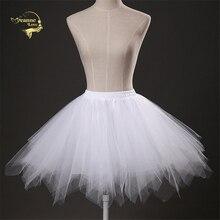 16 Available Short Petticoat Tulle Skirts Womens Elastic Stretchy Crinoline Summer Adult Tutu Skirt Underskirt Rockabilly PC8899