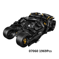 New Lepin 07060 Super Hero Movie Series The Tumbler Armored Chariot Set 76023 Building Blocks Bricks Birthday Gifts