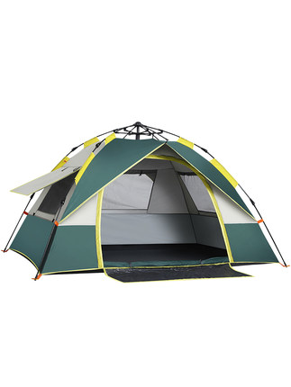 [TB04]Automatic tent outdoor anti-storm rain 3-4 people thick rainproof double 2 single camping camping camping[TB04]Automatic tent outdoor anti-storm rain 3-4 people thick rainproof double 2 single camping camping camping