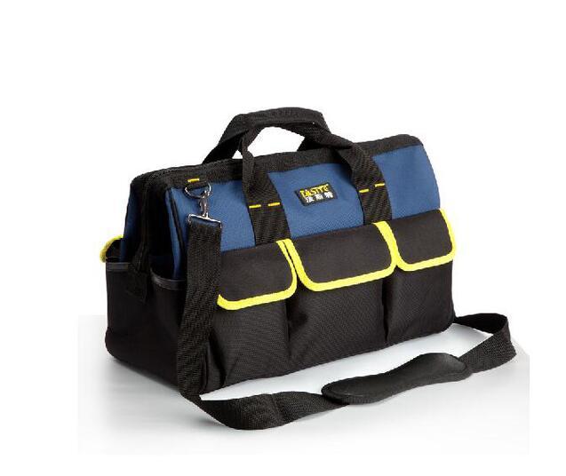 FASITE outil Combo sac taille ceinture organisateur professionnel électriciens outil pochette rouge sac à outils bleu