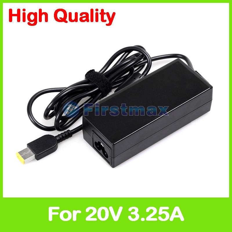 20V 3.25A 65W Laptop Ac Power Adapter Charger For Lenovo M41-80 M50-70 M50-80 V110-15AST V110-15IAP V510-14IKB V720-14 Z41-70