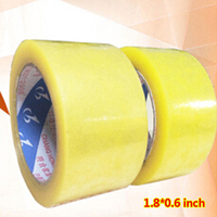 2 Rolls 2 Mil 2 X 100 Yards Packing Tape Adhesive Tape Film Paper Adhesive Strapping