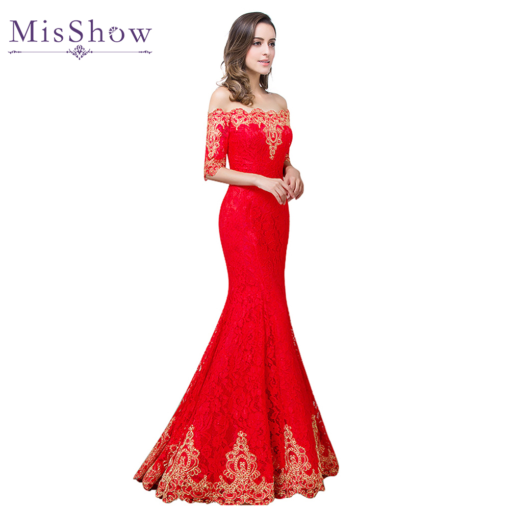 Popular Red Gold Evening Gown-Buy Cheap Red Gold Evening Gown lots ...