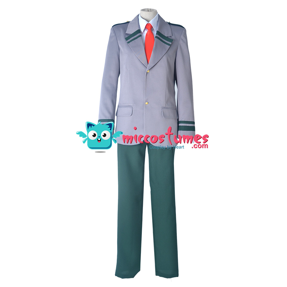 My Hero Academia Male Cosplay Costume School Uniform Long Tie and Short Tie