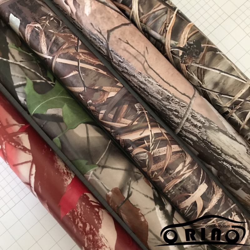 Shadow Gras Vinyl Film ORINO Realtree Auto Wrap Film Met Luchtbel Gratis Camouflage Voertuig Auto Motor Full Wrapping Folie