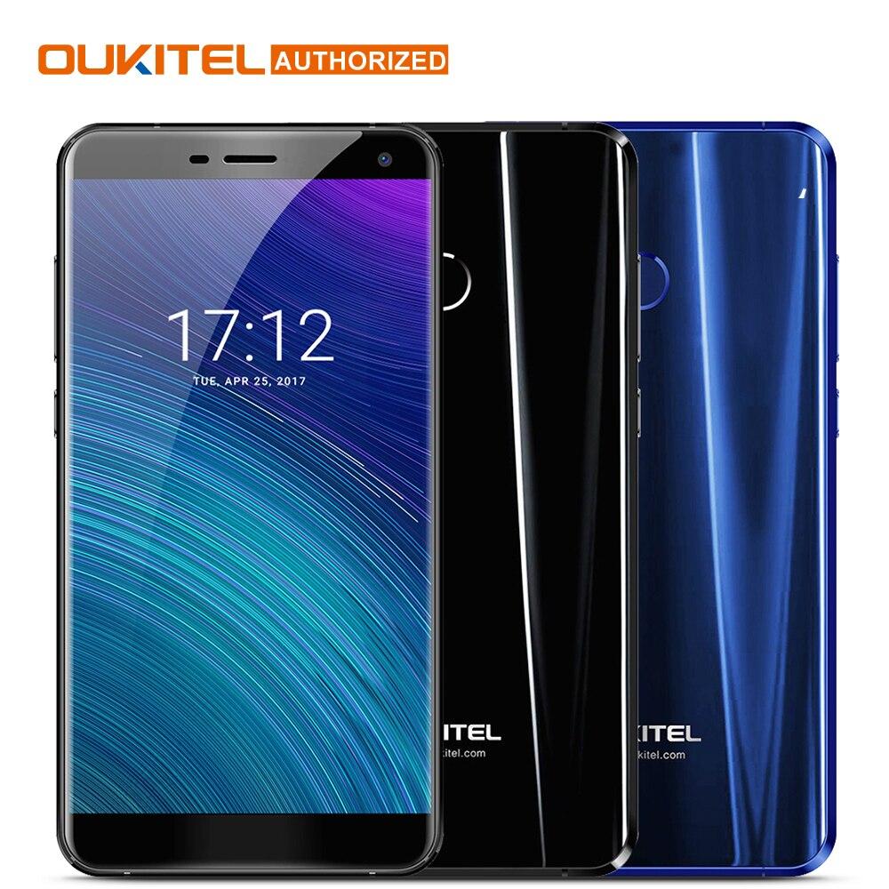 Oukitel U11 Plus Android 7.0 Moblie Phone 5.7 FHD Octa Core 4GB RAM 64GB ROM MTK6750T 13.0MP 3700mAh Fingerprint Cellphone