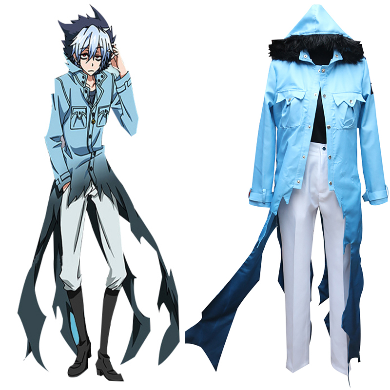 SERVAMP Mahiru Shirota Cat Kuro Sleepy Ash Cosplay Costume Uniform Suit Full outfit-in Anime Costumes from Novelty & Special Use