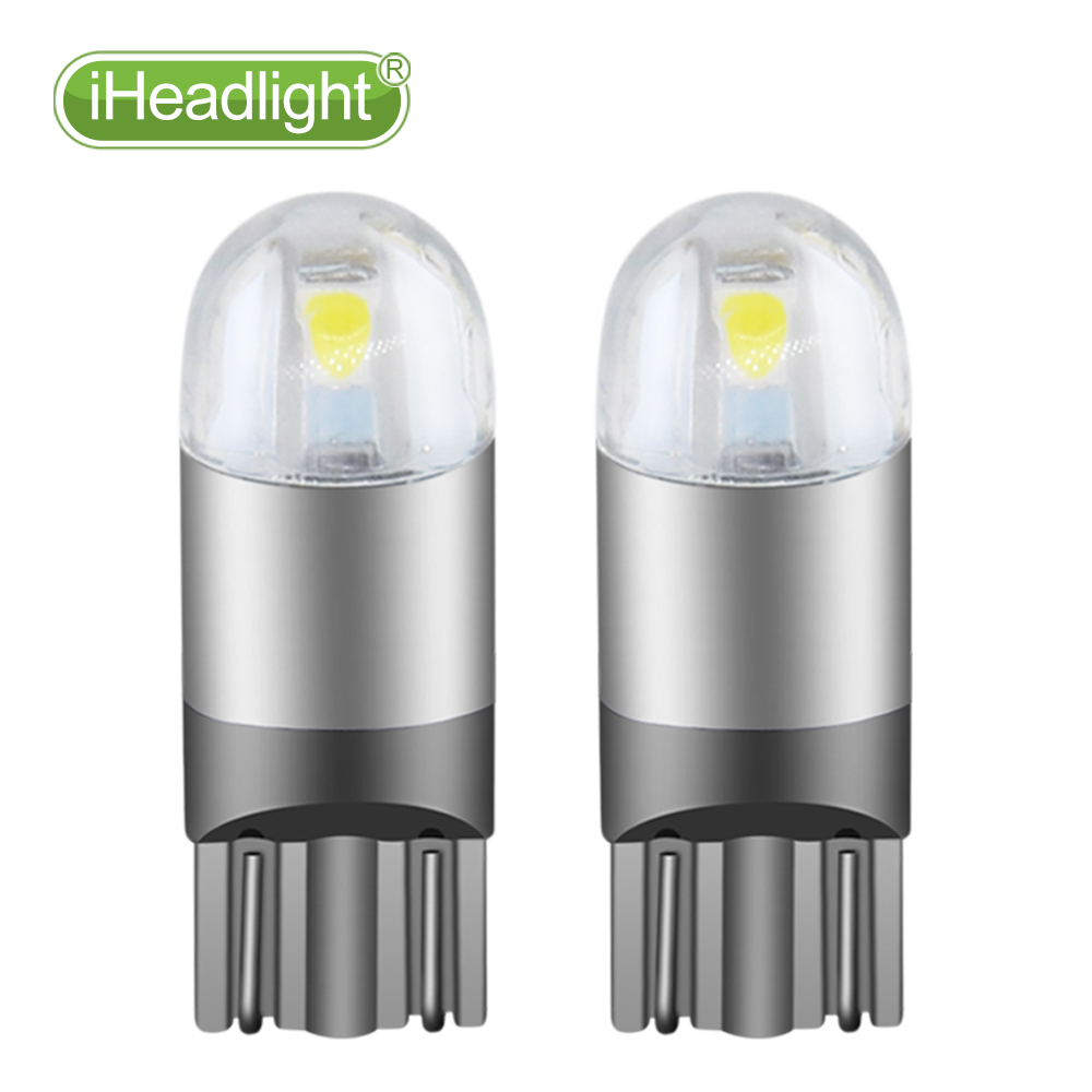 2pcs T10 LED 12v Car Turn Signal room lamp  car reading light Bulb - Car Lights - Photo 1