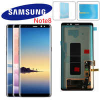 "Original 6.3"" Display For SAMSUNG GALAXY Note 8 LCD Display N9500 N9500F SM-N9500F LCD With Touch Screen Digitizer"