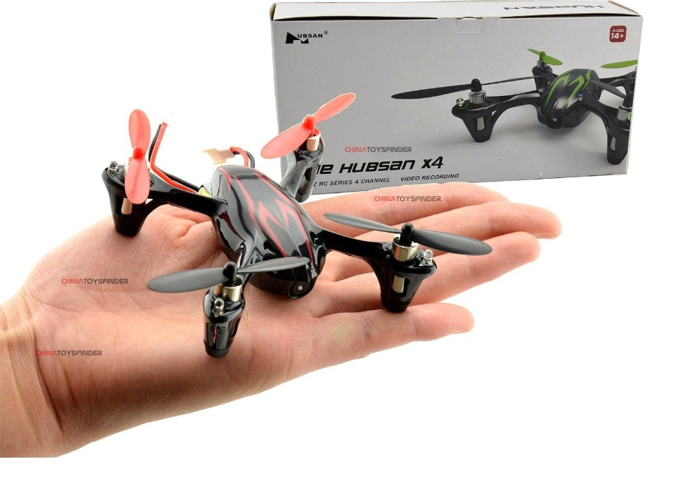 Hubsan X4 H107C 2.4G 4CH 6-Axis RC Quadcopter with Camera RTF Mini RC Airplane with LED Seachlight