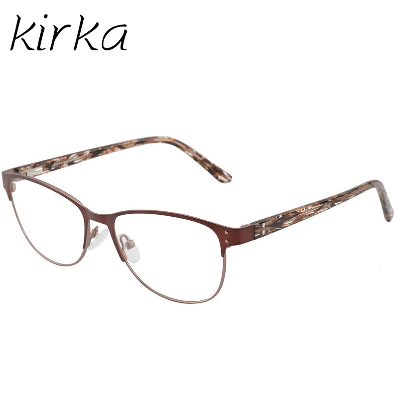 e0f718412c Kirka Glasses Frame Women Optical Glasses Retro Clear Lens Myopia Brand Eyeglasses  Frame Reading Glasses Fashion Eyewear