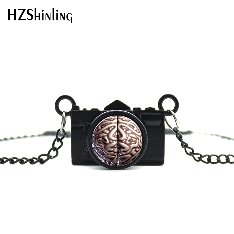2017 New Arrived Diy Zombie Brain Camera Necklace Psychology