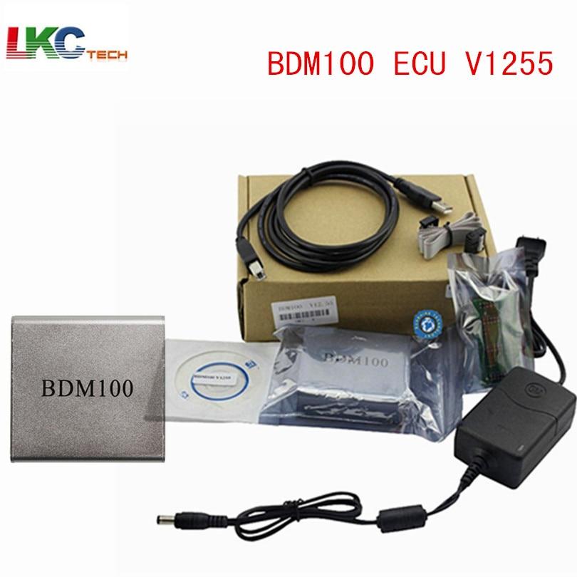 Цена за 2017 с самым высоким рейтингом 100% Высокое качество BDM 100 ECU 1255 программист BDM100 Бесплатная доставка