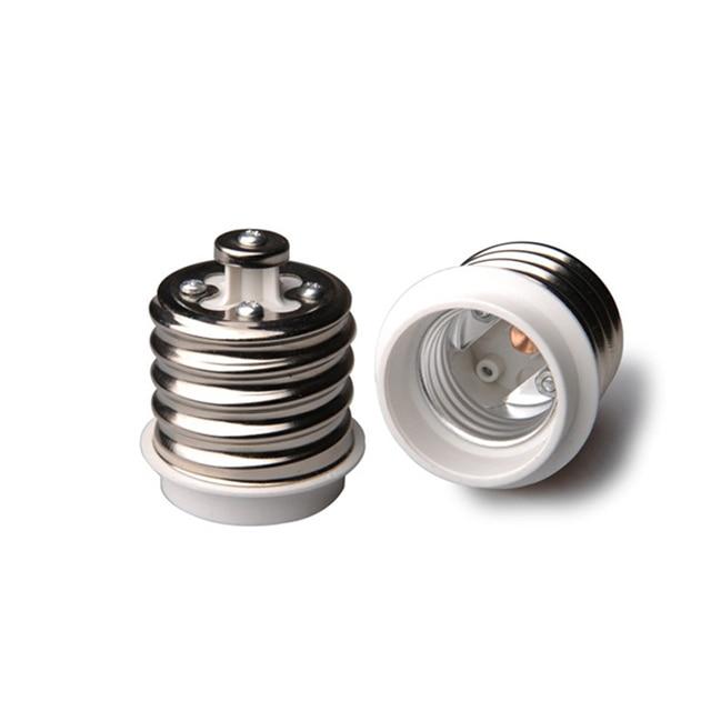 5Pcs Light Bulb Socket Adapter Mogul Base E39 To Medium E26 Screw Reducer  New