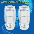 Frete grátis! 2 pcs por atacado fabricante de paradoxo dg85 alarme pir motion detector digital ao ar livre
