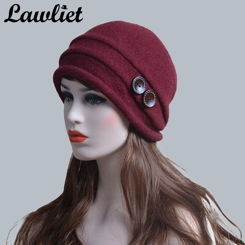 Lawliet Beanies Bonnet en laine pour femme