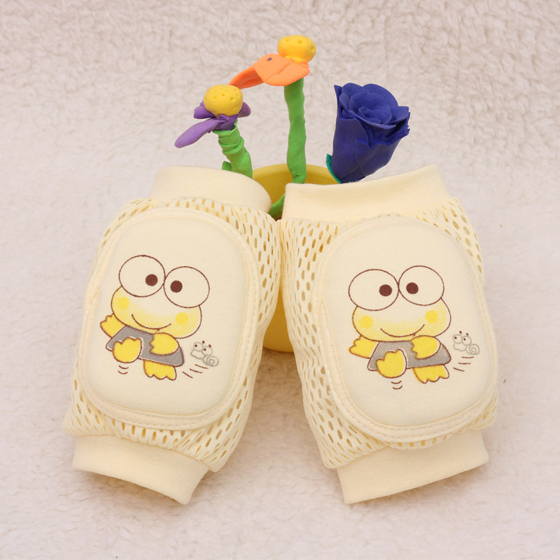 2pairs High Quality Baby Leg Warmers Toddler Safety Kids Knee Pads Caton Short Kneepad Crawling Protective Leggings Breathable ...