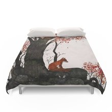 Fantastic Mr. Fox Doesn't Feel So Fantastic Anymore Duvet Covers Queen/King Size Duvet Cover Set Bedding Set(China)