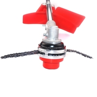 Trimmer Head Coil 65Mn Chain Brushcutter Garden Grass Trimmer For Lawn Mower G21 Drop Ship