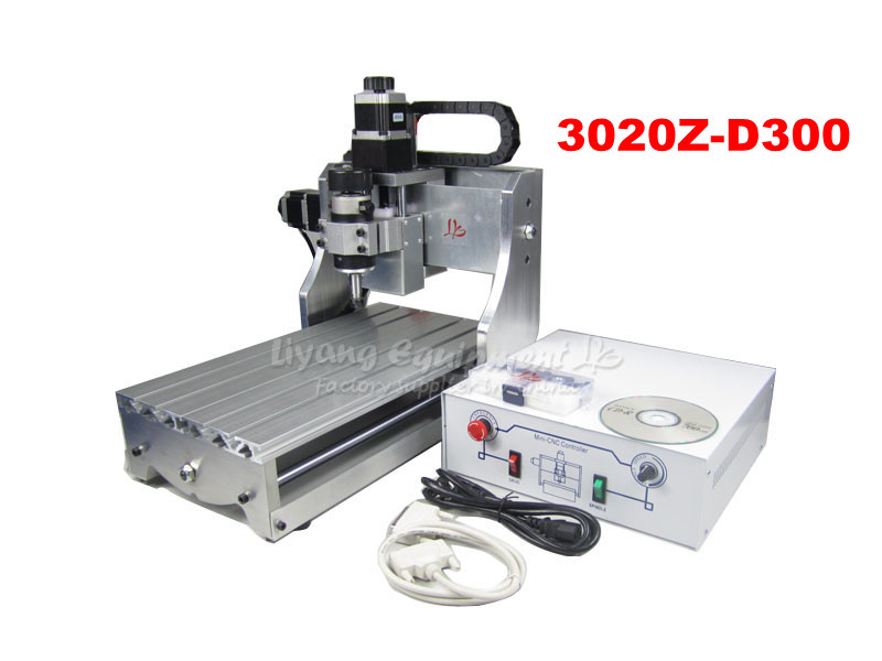Best price for free shipping CNC 3020 Z-D300 engraving machine, CNC router, milling machine made in china cnc 5axis a aixs rotary axis t chuck type for cnc router cnc milling machine best quality