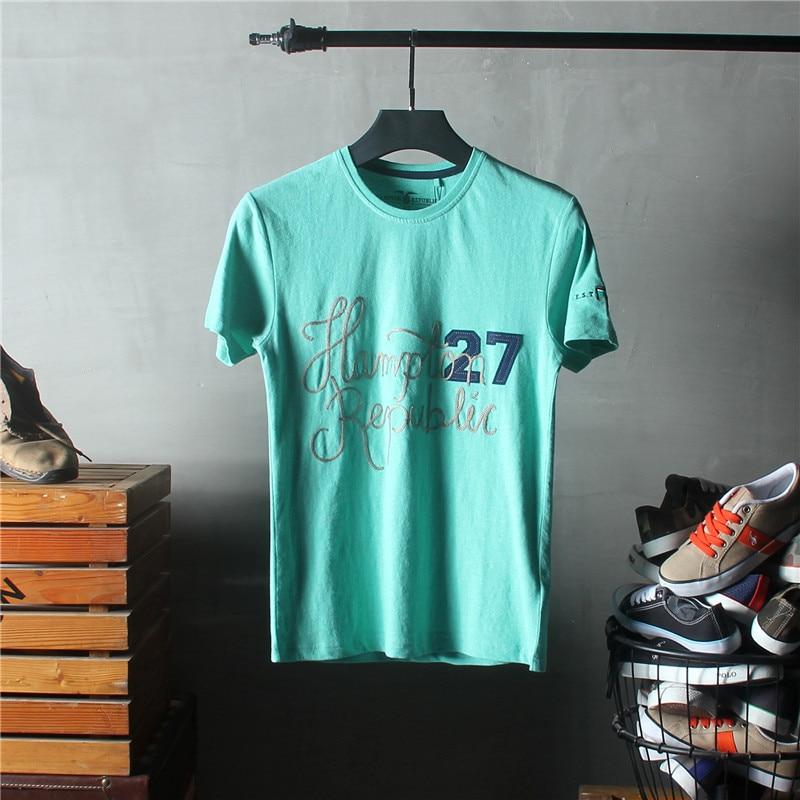 2018 جديد الرجال طباعة رسالة تيز قميص - ملابس رجالية