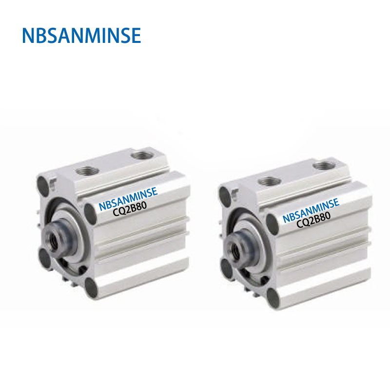 CQ2B 80mm Bore  Pneumatic ISO Compact Cylinder SMC Type Double Acting High Quality for Automatic MachineCQ2B 80mm Bore  Pneumatic ISO Compact Cylinder SMC Type Double Acting High Quality for Automatic Machine