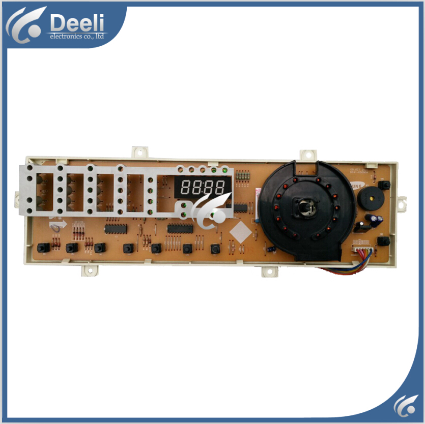 95% new used Original for washing machine Computer board DC41-00090A DC92-00102C 1 side Only the display panel ipc board pia 662 sent to the cpu memory used disassemble